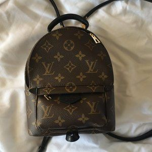 Louis Vuitton Palm Springs Backpack Mini Monogram